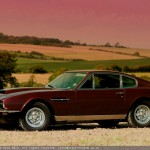 1972 Aston Martin V8 with duo-tone filtration.