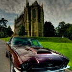 1972 Aston Martin V8 by Lancing College