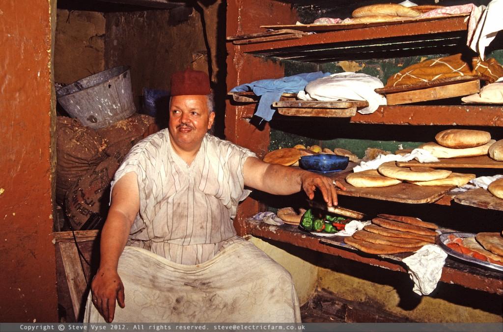 Baker, Asilah, Morocco