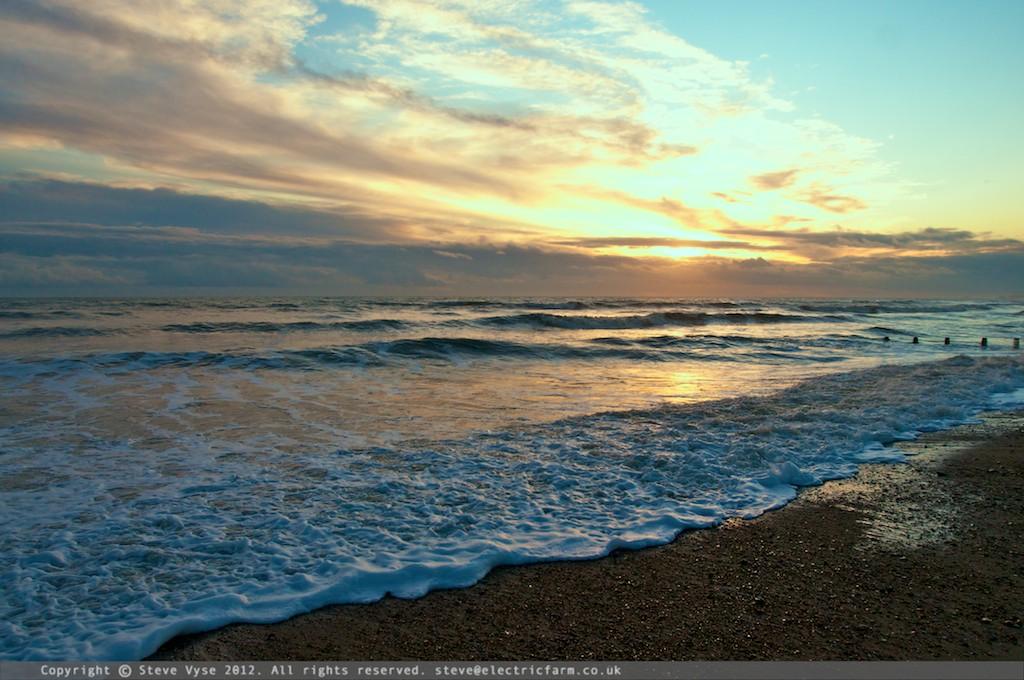Shoreham Beach Evening