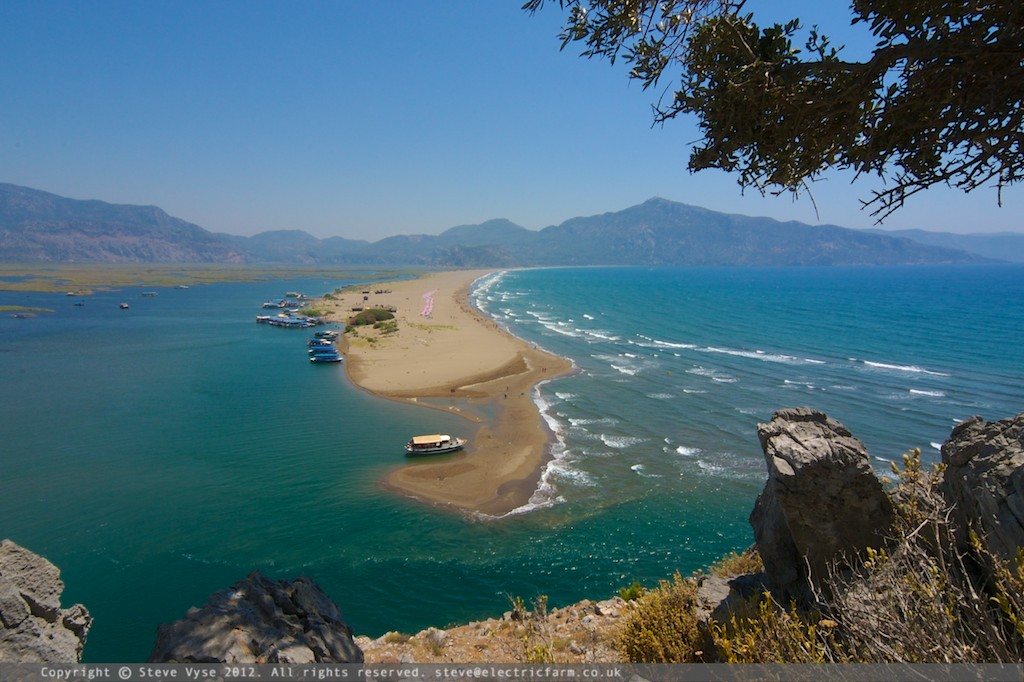 Dalyan Beach, Turkey