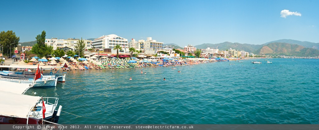 Marmaris Beach, Turkey