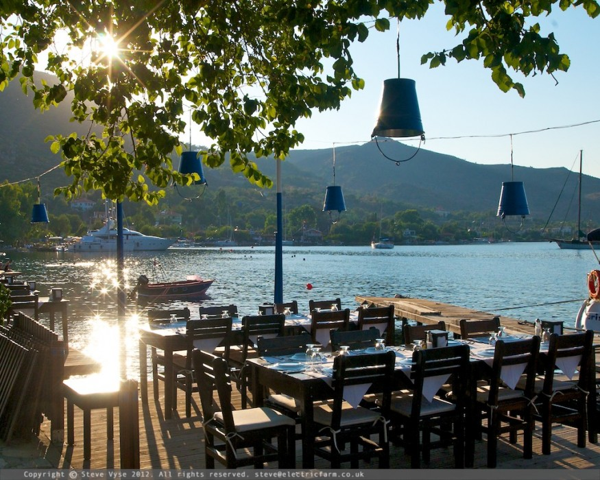 Aurora Restaurant, Selimye, Turkey.