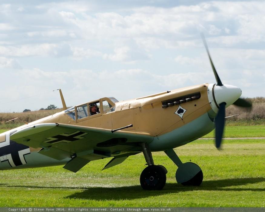 Hispano HA1112-M1L Buchon G-AWHE