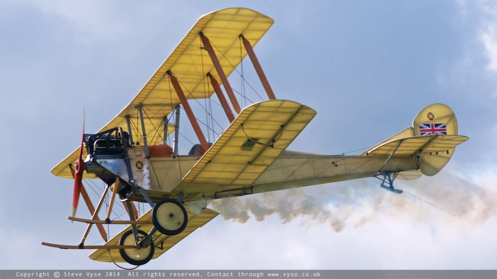 Great War Display Team - RAF BE2c